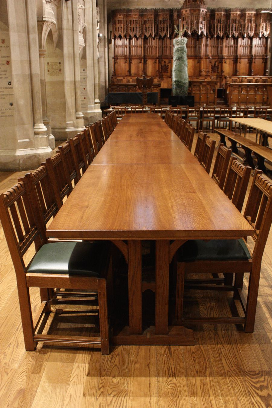 Mansfield College dining room
