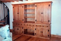 Large Ash Double-Fronted Dresser