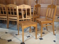 Dining hall chair