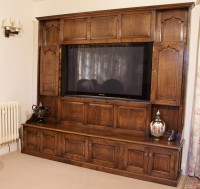 Large Plasma Screen Cabinet
