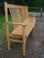 Long Lath back bench