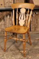 Kitchen Lyre-Back Chair