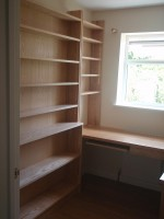 Office Bookcase with Desk