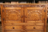 Drinks Cabinet Carving Detail