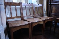 Mansfield College chairs