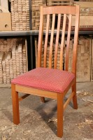 High-Back Lath Chair
