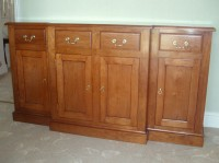Break Front Sideboard in American Cherry