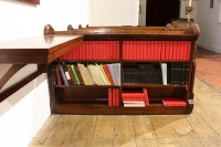 Bookcase and shelving