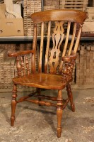 Lath and Baluster Armchair