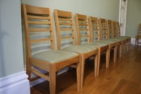 Matched set of chairs