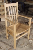 Dining chair to match bench