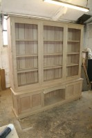 Cherry Display Display Cabinet (Unpolished)