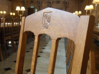 Dining Hall chair detail