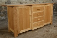 Sideboard in Ash and Cherry