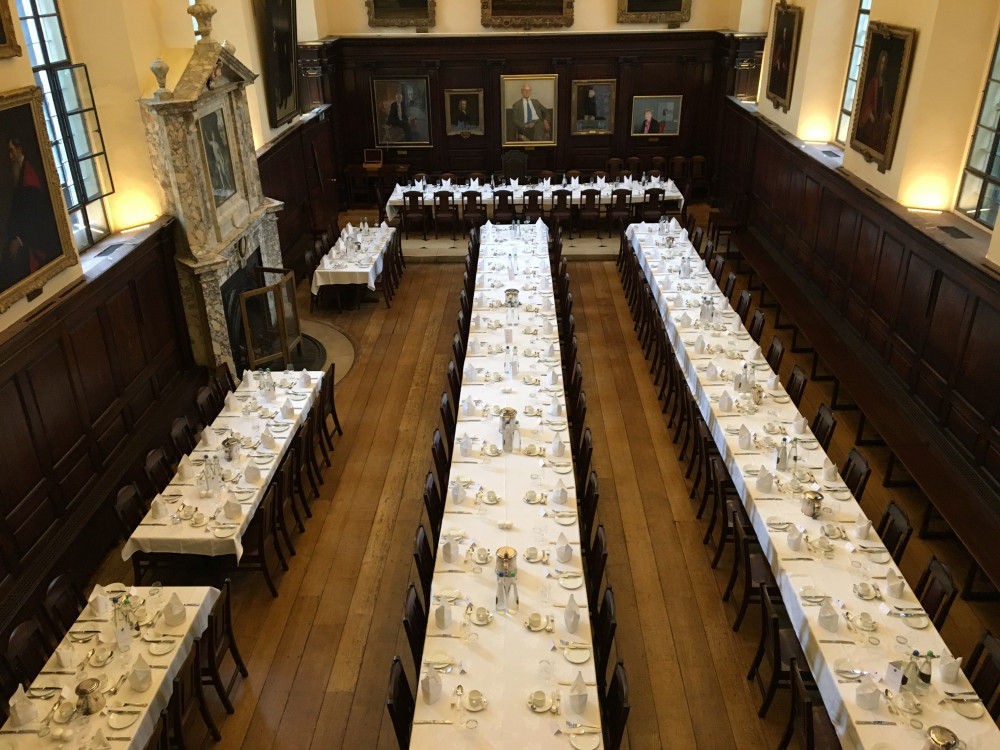 St John's College dining hall